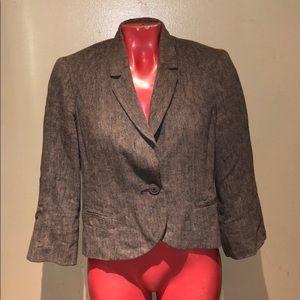 Anthropologie - Tabitha blazer jacket coat shirt